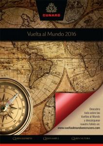 vuelta al mundo en crucero cunard 2016